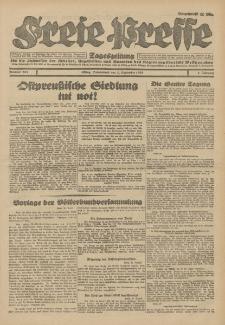 Freie Presse, Nr. 205 Sonnabend 1. September 1928 4. Jahrgang
