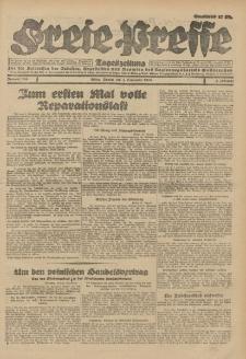 Freie Presse, Nr. 206 Montag 3. September 1928 4. Jahrgang