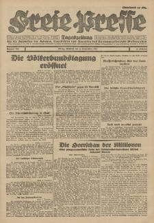 Freie Presse, Nr. 207 Dienstag 4. September 1928 4. Jahrgang