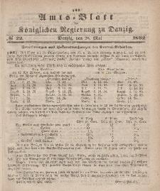 Amts-Blatt der Königlichen Regierung zu Danzig, 28. Mai 1862, Nr. 22
