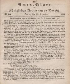 Amts-Blatt der Königlichen Regierung zu Danzig, 31. Dezember 1862, Nr. 53