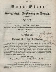 Amts-Blatt der Königlichen Regierung zu Danzig, 11. Juni 1856, Nr. 24