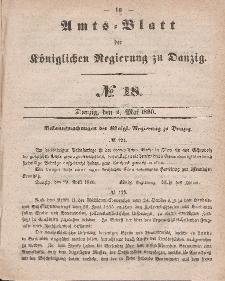 Amts-Blatt der Königlichen Regierung zu Danzig, 2. Mai 1860, Nr. 18