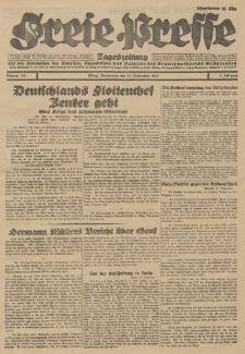 Freie Presse, Nr. 221 Donnerstag 20. September 1928 4. Jahrgang