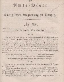 Amts-Blatt der Königlichen Regierung zu Danzig, 28. November 1860, Nr. 48