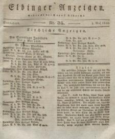Elbinger Anzeigen, Nr. 35. Sonnabend, 1. Mai 1830
