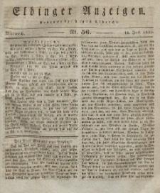 Elbinger Anzeigen, Nr. 56. Mittwoch, 14. Juli 1830