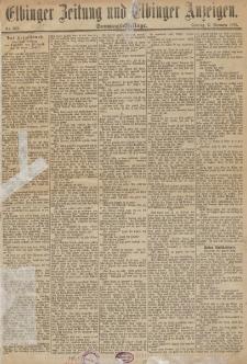 Elbinger Zeitung und Elbinger Anzeigen, Nr. 269 Sonntag 15. November 1885
