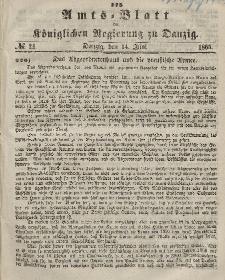 Amts-Blatt der Königlichen Regierung zu Danzig, 14. Juni 1865, Nr. 24