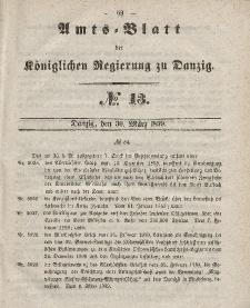 Amts-Blatt der Königlichen Regierung zu Danzig, 30. März 1859, Nr. 13