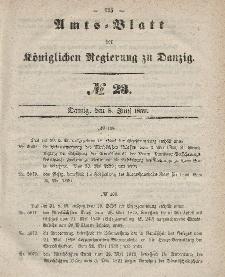 Amts-Blatt der Königlichen Regierung zu Danzig, 8. Juni 1859, Nr. 23