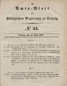 Amts-Blatt der Königlichen Regierung zu Danzig, 15. Juni 1859, Nr. 24