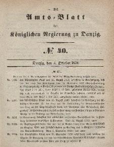 Amts-Blatt der Königlichen Regierung zu Danzig, 5. Oktober 1859, Nr. 40