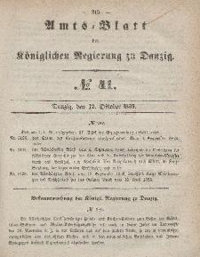 Amts-Blatt der Königlichen Regierung zu Danzig, 12. Oktober 1859, Nr. 41