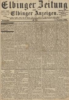 Elbinger Zeitung und Elbinger Anzeigen, Nr. 284 Donnerstag 3. Dezember 1885