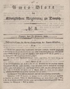 Amts-Blatt der Königlichen Regierung zu Danzig, 27. Januar 1858, Nr. 4