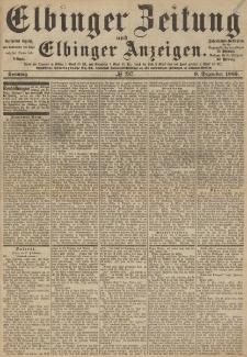 Elbinger Zeitung und Elbinger Anzeigen, Nr. 287 Sonntag 6. Dezember 1885