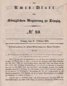 Amts-Blatt der Königlichen Regierung zu Danzig, 27. Oktober 1858, Nr. 43