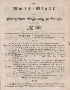 Amts-Blatt der Königlichen Regierung zu Danzig, 15. Dezember 1858, Nr. 50