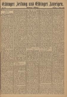 Elbinger Zeitung und Elbinger Anzeigen, Nr. 237 Sonntag 8. Oktober 1893