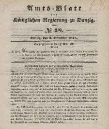 Amts-Blatt der Königlichen Regierung zu Danzig, 2. Dezember 1846, Nr. 48