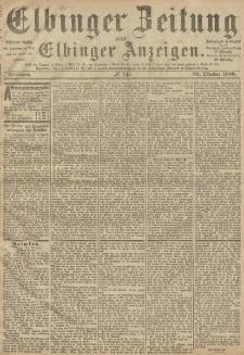 Elbinger Zeitung und Elbinger Anzeigen, Nr. 245 Mittwoch 20. Oktober 1886