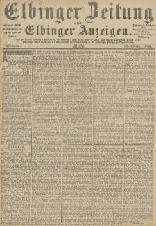 Elbinger Zeitung und Elbinger Anzeigen, Nr. 251 Mittwoch 27. Oktober 1886
