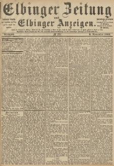 Elbinger Zeitung und Elbinger Anzeigen, Nr. 257 Mittwoch 3. November 1886