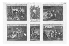 Sceny przedstwiające porwanie króla Stanisława Augusta Poniatowskiego