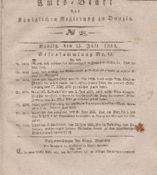 Amts-Blatt der Königlichen Regierung zu Danzig, 15. Juli 1835, Nr. 28