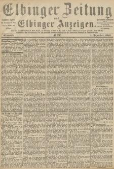 Elbinger Zeitung und Elbinger Anzeigen, Nr. 281 Mittwoch 1. Dezember 1886
