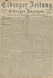 Elbinger Zeitung und Elbinger Anzeigen, Nr. 283 Freitag 3. Dezember 1886