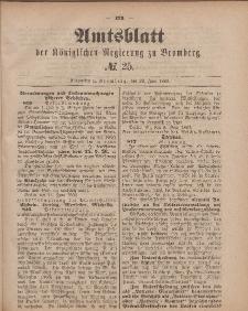 Amtsblatt der Königlichen Preußischen Regierung zu Bromberg, 22. Juni 1883, Nr. 25
