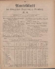 Amtsblatt der Königlichen Preußischen Regierung zu Bromberg, 21. Dezember 1883, Nr. 51