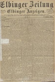 Elbinger Zeitung und Elbinger Anzeigen, Nr. 2 Donnerstag 3. Januar 1889