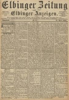 Elbinger Zeitung und Elbinger Anzeigen, Nr. 98 Sonnabend 27. April 1889