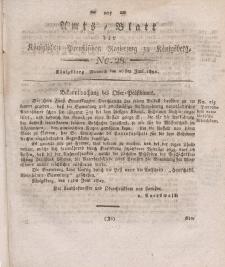 Amts-Blatt der Königlichen Preußischen Regierung zu Königsberg, Mittwoch, 26. Juni 1822, Nr. 28