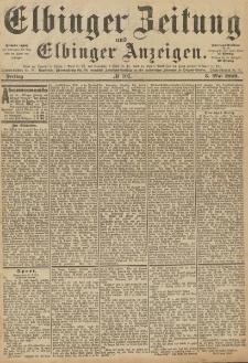 Elbinger Zeitung und Elbinger Anzeigen, Nr. 103 Freitag 3. Mai 1889