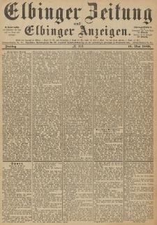 Elbinger Zeitung und Elbinger Anzeigen, Nr. 109 Freitag 10. Mai 1889