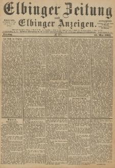 Elbinger Zeitung und Elbinger Anzeigen, Nr. 116 Sonntag 19. Mai 1889
