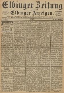 Elbinger Zeitung und Elbinger Anzeigen, Nr. 117 Dienstag 21. Mai 1889