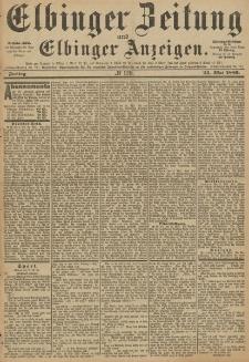 Elbinger Zeitung und Elbinger Anzeigen, Nr. 120 Freitag 24. Mai 1889
