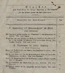 Amts-Blatt der Königl. Preuß. Regierung zu Marienwerder, 1822 ( Register : Januar - Juni)