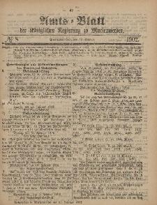 Amts-Blatt der Königlichen Regierung zu Marienwerder, 19. Februar 1902, No. 8.