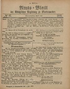 Amts-Blatt der Königlichen Regierung zu Marienwerder, 2. Juli 1902, No. 27.