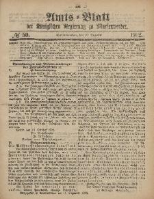 Amts-Blatt der Königlichen Regierung zu Marienwerder, 10. Dezember 1902, No. 50.