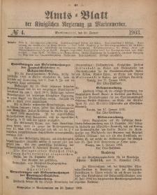 Amts-Blatt der Königlichen Regierung zu Marienwerder, 28. Januar 1903, No. 4.