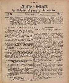 Amts-Blatt der Königlichen Regierung zu Marienwerder, 25. Februar 1903, No. 8.