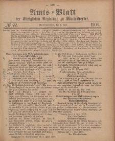 Amts-Blatt der Königlichen Regierung zu Marienwerder, 2. Juni 1903, No. 22.