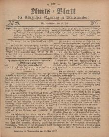 Amts-Blatt der Königlichen Regierung zu Marienwerder, 15. Juli 1903, No. 28.